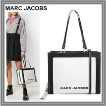 【MARC JACOBS☆カラーブロック ザ ボックス トートバッグ】
