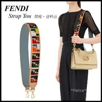 *FENDI*FF LOGO STRAP YOU 関税/送料込