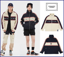 ROMANTIC CROWN★Unisex Color★21C BOYS RACING JACKET_2色