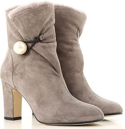 Suede Leather Boots スエードブーツ