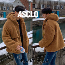 [送料込] ASCLO◆Brit Boa Hood Jumper (2color)_韓国発