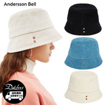 ANDERSSON BELL(アンダースンベル) ハット Andersson Bell VOLUME COTTON BUCKET HAT MU1109 追跡付