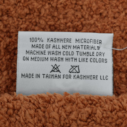 kashwere キッズ・ベビー・マタニティその他 KASHWERE カシウエア T-30-27-52  Throw Solid Blankets(4)