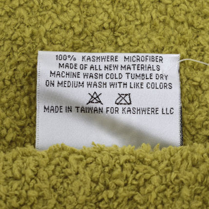 kashwere キッズ・ベビー・マタニティその他 KASHWERE カシウエア T-30-130-52  Throw Solid Blankets(4)