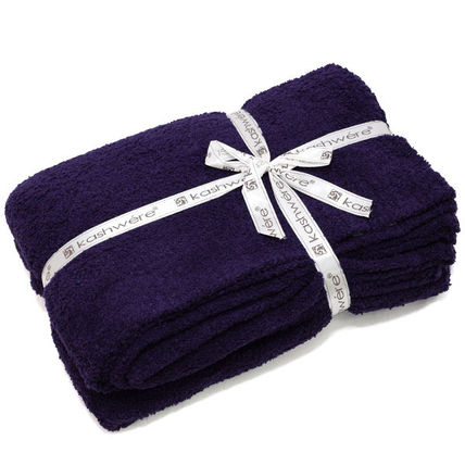 kashwere キッズ・ベビー・マタニティその他 KASHWERE カシウエア T-30-126-52  Throw Solid Blankets