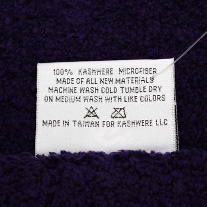 kashwere キッズ・ベビー・マタニティその他 KASHWERE カシウエア T-30-126-52  Throw Solid Blankets(4)