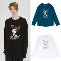 ★BAD IN BAD★韓国 カットソー MULTI LOGO LONG SLEEVE 全3色