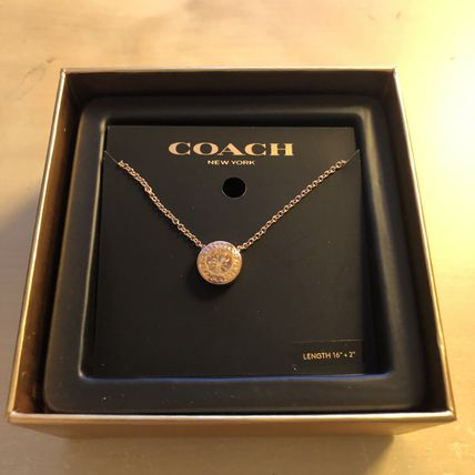 Coach ネックレス・ペンダント COACH☆ Open Circle Stone Strand ネックレス ☆税・送込(5)
