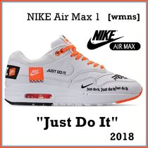 NIKE Air Max 1 LX JUST DO IT White  SS18 2018 [WMNS]