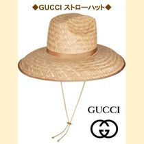 【GUCCI】 ストローハット 2019AW