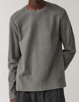 """COS(コス) Tシャツ・カットソー """"COS MEN""""  RIBBED JERSEY TOP GRAY"""