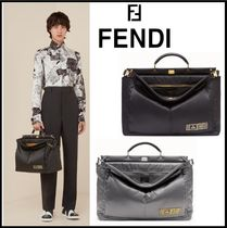 【FENDI】新作☆PEEKABOO FENDI AND PORTER MEDIUM メンズ