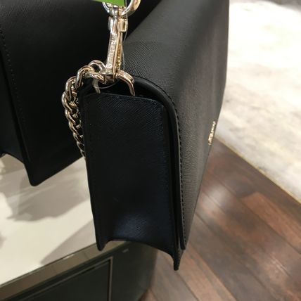 Moschino 2019 20AW Casual Style Chain Plain Shoulder Bags