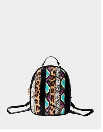 Betsey Johnson バックパック・リュック 関税無★Betsey Johnson★SNAKE MY DAY MINI BACKPACK