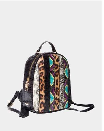 Betsey Johnson バックパック・リュック 関税無★Betsey Johnson★SNAKE MY DAY MINI BACKPACK(3)