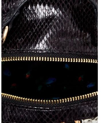 Betsey Johnson バックパック・リュック 関税無★Betsey Johnson★SNAKE MY DAY MINI BACKPACK(5)