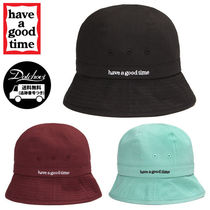 have a good time Side Logo Bucket Hat MU1133 追跡付