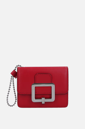 BALLY カードケース・名刺入れ 【関税送料込】BALLY JINA CARD CASE IN SMOOTH LEATHER(2)