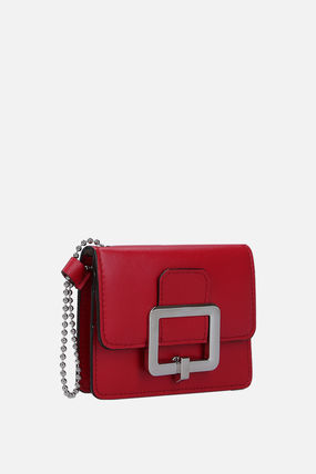 BALLY カードケース・名刺入れ 【関税送料込】BALLY JINA CARD CASE IN SMOOTH LEATHER(4)