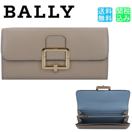BALLY 長財布 【関税送料込】BALLY JINNEY WALLET IN SMOOTH LEATHER