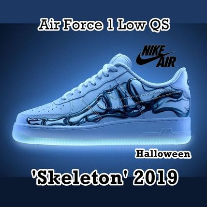 huge selection of d4101 051b6 NIKE Air Force 1 Low QS Skeleton Halloween AW 18 2018