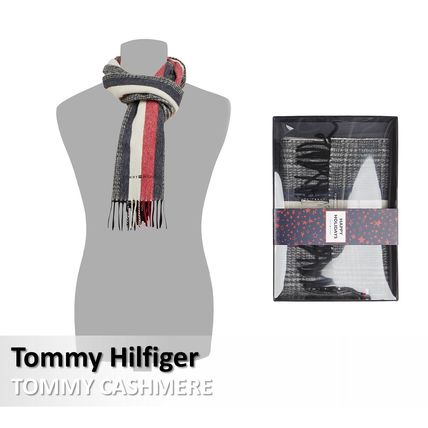 Tommy Hilfiger :: TOMMY CASHMERE カシミアマフラー ギフト