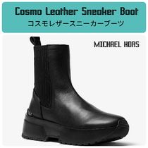 MICHAEL KORS☆Cosmo Leather Sneaker Boot☆スニーカーブーツ