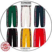 【19FW/AW】SUPREME Text Rib Sweatpant スエットパンツ