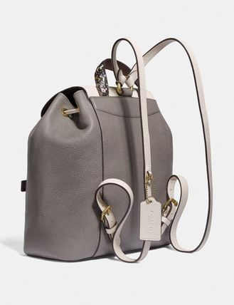 Coach バックパック・リュック コーチ Evie Backpack In Colorblock   76107(2)