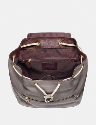 Coach バックパック・リュック コーチ Evie Backpack In Colorblock   76107(4)