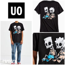 Urban Outfitters(アーバンアウトフィッターズ) Tシャツ・カットソー 大人気!!《Urban outfitters》スケルトン☆シンプソンTシャツ