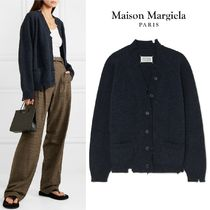 ∞∞ Maison Margiela ∞∞  Distressed melange カーディガン☆