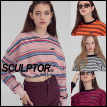 SCULPTOR(スカルプター) スウェット・トレーナー ~SCULPTOR~ 19AW String Crop Top 全4色-超かわいいミニトップ