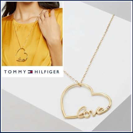 TOMMY HILFIGER☆LOVE〓ハートのチャーム ネックレス