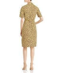 kate spade new york ワンピース kate spade New York Sunny Bloom Ruched-Front Shirt Dress(2)