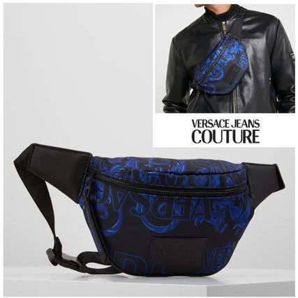 Versace Jeans COUTURE☆バロック ロゴ クロスボディ バムバッグ