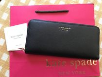 即発★Kate Spade★Sylvia Slim Continental Wallet★ブラック