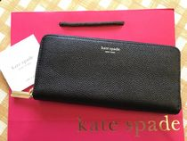 即発★Kate Spade★Margaux Slim Continental Wallet★ブラック