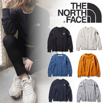【THE NORTH FACE】Square Logo スクエア ロゴ クルー メンズ