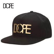 【DOPE】☆新作☆24K Gold Logo New Era Fitted