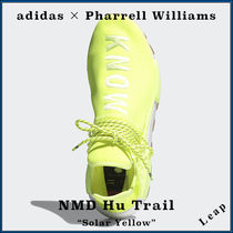"【adidas】Pharrell NMD Hu Trail PROUD Pack ""Solar Yellow"""