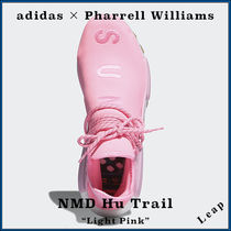 "【adidas】Pharrell NMD Hu Trail PROUD Pack ""Light Pink"""