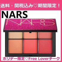 ホリデー限定 NARS Free Lover Cheek Palette 6色チーク