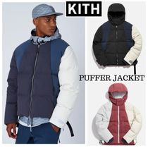 KITH☆COLOR-BLOCKED PUFFER JACKET