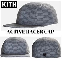 KITH☆ACTIVE RACER CAP☆モノグラム
