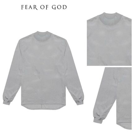 【FEAR OF GOD】5TH COLLECTION MESH LONG SLEEVE TEE