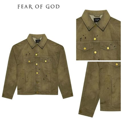 【FEAR OF GOD】5TH COLLECTION SELVEDGE DENIM TRUCKER JACKET