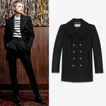 WSL1557 DOUBLE BREASTED PEA COAT