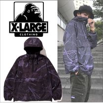 XLARGE【2019秋冬】 PANELED ANORAK JACKET カモ