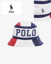 New !! POLO Ralph Lauren Spell Out Stripe Hat / トリコロール